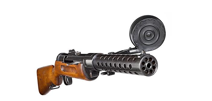 Пистолет пулемет Бергман МП-18/1