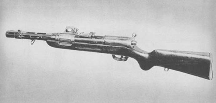 Пистолет-пулемет Бергман МП-34/1 и МП-35/1