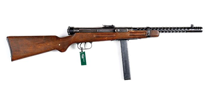 Пистолет-пулемет Беретта, модель 1938А