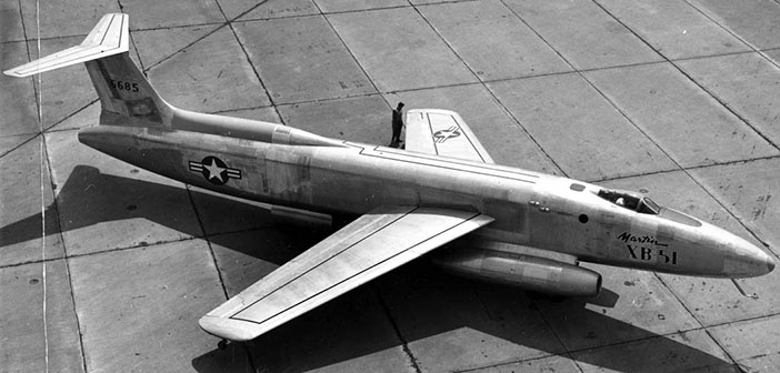 Американский бомбардировщик Martin XB-51