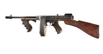 Автомат Томпсона — оружие гангстеров