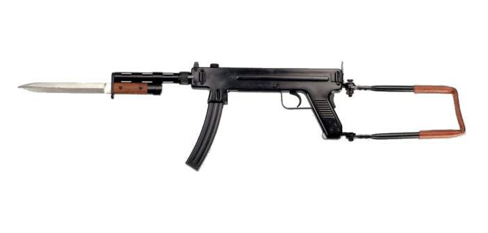 Пистолет-пулемет Мадсен М53