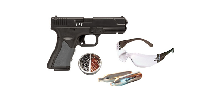 Пневматический пистолет Crosman T4CS