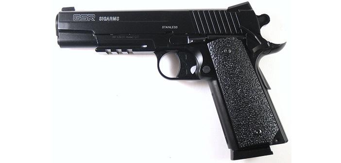 Пневматический пистолет Cybergun GSR 1911