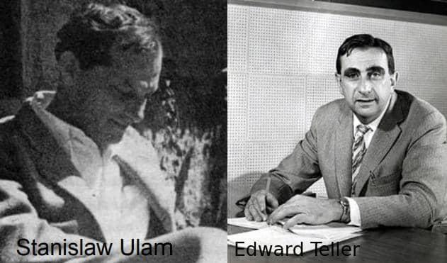 Станислав Улам и Эдвард Таллер