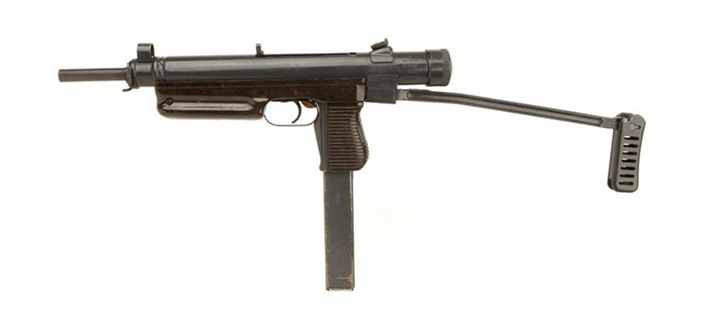 Пистолет-пулемет ЧЗСА-25