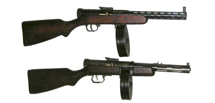 Пистолет-пулемет ППД-40