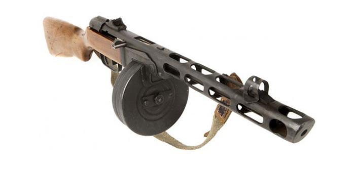 Пистолет-пулемет ППШ-41