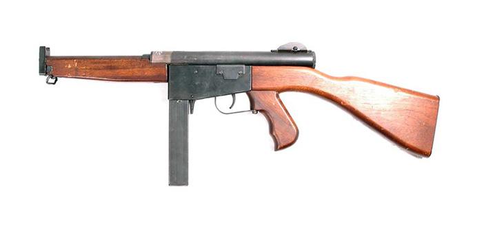 Пистолет-пулемет Ингрэм, модель 6