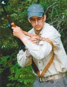 Как использовать оружейный ремень. фото №4