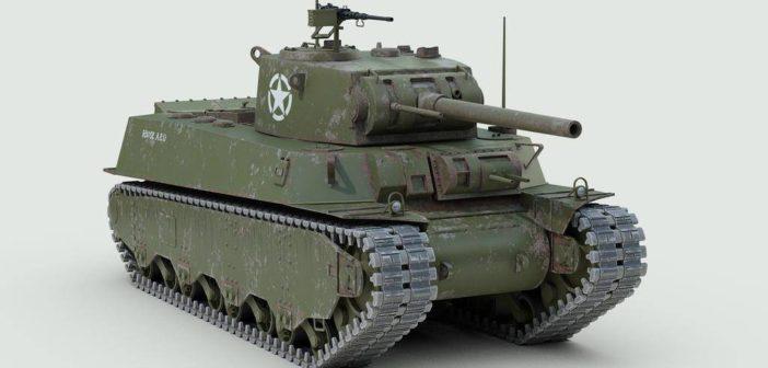 Тяжелый танк M6