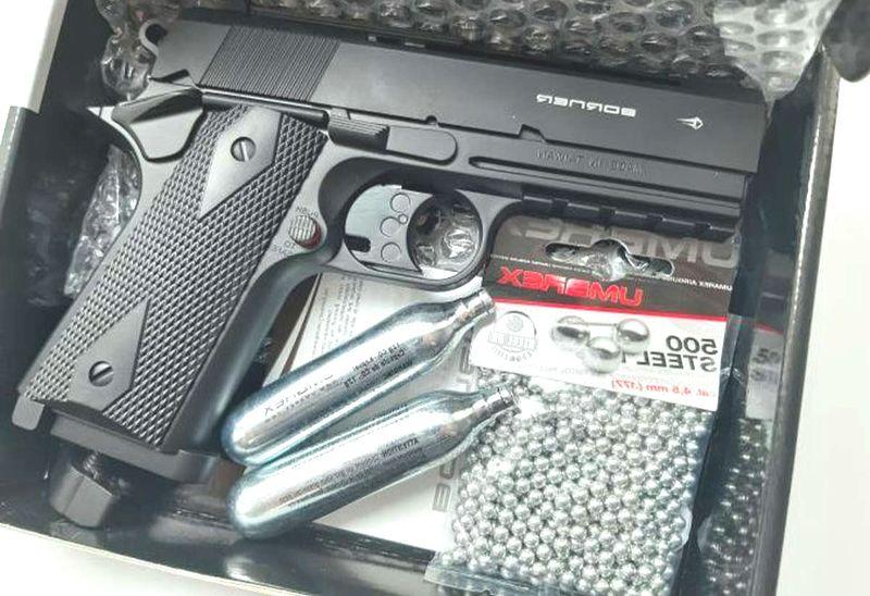 Пневматический пистолет Borner WC401. фото №2