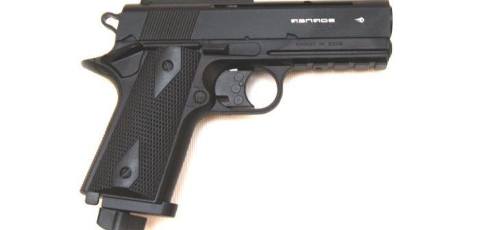 Пневматический пистолет Borner WC401